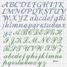 Image result for free cross stitch alphabet