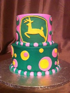 Toddler Girl Birthday cake Cakes Pinterest Girl birthday