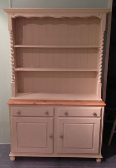 Big & Beautiful Dresser in Autentico Cocos with White Pepper Accent