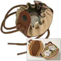 Drawstring Coin Pouch Kit