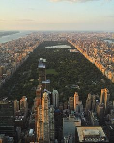 New York City Feelings - Central Park from above by @flynyon @vinfarrell...