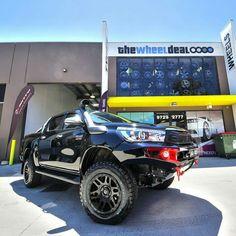 Tuff Toyota Hilux Lifted Ford Trucks, New Trucks, Hilux 2017, Toyota Fj Cruiser, Jeep Rubicon, Toyota Hilux, Bugatti Veyron, Ferrari 458, Concept Cars