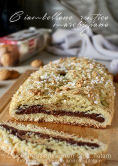Ciambellone rustico marchigiano con nutella e amaretti :P Qui la ricetta completa---> http://bit.ly/2nvrMpw - Francesca Del Vecchio - Google+