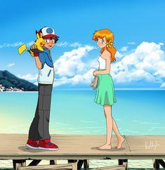 Manga Anime, Pokemon Manga, Pokemon Funny, All Pokemon, Pokemon Fan Art, Pokemon Images, Pokemon Pictures, Dragon Ball Z, Pokemon Ash And Misty