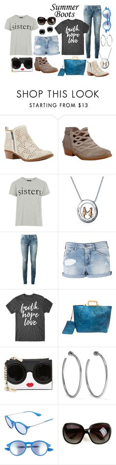 """Sisters"" by mountain-girl-lynn ❤ liked on Polyvore featuring Lucky Brand, Miz Mooz, Topshop, Bling Jewelry, Yves Saint Laurent, Armani Jeans, Old Trend, Alice + Olivia, Jennifer Fisher and Ray-Ban"