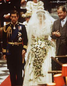 Très médiatisées, les noces de Lady Diana et du prince Charles sont inoubliables. Londres, 29 juillet 1981
