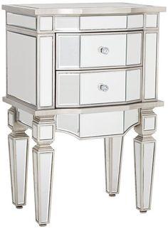 Wilton Mirrored 2-Drawer Accent Table Universal Lighting and Decor,http://www.amazon.com/dp/B006JMQVMY/ref=cm_sw_r_pi_dp_uLb1sb0YMGM9WA9F