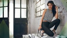 April 16: New promotional pictures of Selena for her 2014 Summer Adidas NEO Label Collection!