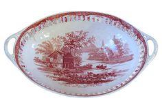 Wedgwood Chestnut Basket, C. 1840 -- Detail