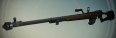 Destiny: No Land Beyond Exotic Sniper Rifle Inventory, David Stammel on ArtStation at https://www.artstation.com/artwork/destiny-no-land-beyond-exotic-sniper-rifle-inventory