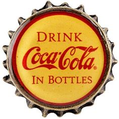 Add a classic, nostalgic touch to cabinets, drawers, and DIY projects with this #CocaCola Delicious & Refreshing Bottle Cap Pull! This cast iron bottle cap knob features a unique bottle cap shape and a yellow and red resin-covered top with vintage Coca-Cola text. Upgrade your kitchen or dining room with customized pieces! - $7.99 at Hobby Lobby