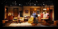 """The set of """"A Raisin in the Sun"""" Theatre Reviews, Set Design Theatre, Scenic Design, Sound Design, Raisin, Ny Times, Lighting Design, Sun, Living Room"""