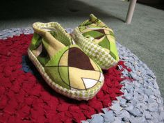 Craft with Confidence: Rockin' Boy Slippers Tutorial