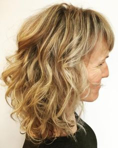 80 Best Modern Hairstyles and Haircuts for Women Over 50 Over 50 Medium Curly Hairstyle with Bangs Modern Haircuts, Modern Hairstyles, Cool Haircuts, Cool Hairstyles, Lob Hairstyle, Hairstyles Haircuts, Medium Curly, Medium Hair Cuts, Medium Hair Styles