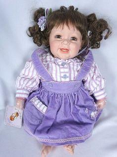 2006 Adora Purple Girl Baby Doll Light Brown Hair Hazel Eyes - NEW | Dolls & Bears, Dolls, By Brand, Company, Character | eBay!