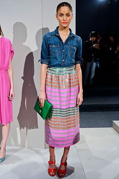I must have this skirt. J.Crew.