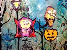 Gothica - Tim Holtz Crazy Birds Bird Crazy altered Count Dracula and friends Halloween Stampers ... - YouTube time 12:28; July 31, 2015