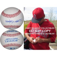 Carlos Peña, Oakland Athletics, A's, Moneyball, Texas Rangers, Detroit Tigers, Boston Red Sox, Chicago Cubs, Tampa Bay Rays, Houston Astros, Kansas City Royals, Signed, Autographed, Baseball, a COA and Proof Photo of Carlos Signing the Baseball Will Be