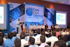 Veracruz es sede de la 11° Expo Foro Eléctrico Pemex-Caname-CFE 2015, que se celebra en el World Trade Center (WTC) de Boca del Río, y como gobernador del estado anfitrión, Javier Duarte de Ochoa acompañó a los organizadores en la ceremonia inaugural.