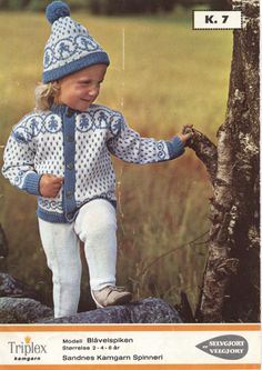 Knitting For Kids, Baby Knitting, Knitting Designs, Knitting Patterns, Norwegian Knitting, How To Make, How To Wear, Crochet Hats, Baby Knits