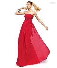 PRONOVIAS BARCELONA 2013 long collection prom dresses robe de soirée rose fuchsia1