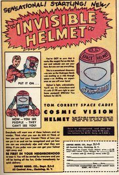 Invisible Helmet (1950s).