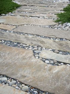 Rock and Pebbles Path
