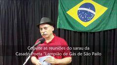 12 #Casa-do-Poeta - Convite a reunião - Wilson Jasa - Café com Poesia 92...