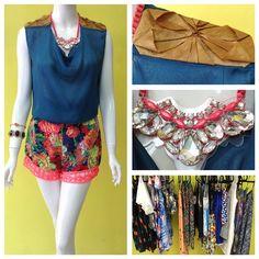 Look inspirado en uno de los racks de Centrito: blusa mexicana de @narciza_severa y shorts de la Peli #ootd #instafashion #inspiracion #amolapeli #centrito