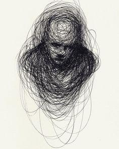 Ink Portrait Sketch