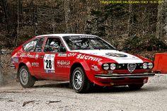 ALFA ROMEO  ALFETTA GT - 3 Rally HISTORIC VALSUGANA