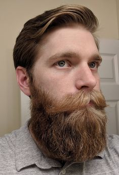 In which we dedicate ourselves to the fine art and discipline of engineering the male facial form. We're here to celebrate beards, not to shame. Walrus Mustache, Big Moustache, Beard No Mustache, Great Beards, Awesome Beards, Beard Styles For Men, Hair And Beard Styles, Hair Styles, Goatee Styles