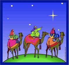 Segundo a tradição cristã ,6 de janeiro foi o dia que Jesus recebeu a visita dos 3 Reis Magos: Belchior...
