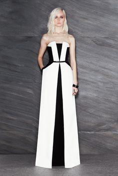 Maxime Simoens Stretch Crepe Long Dress