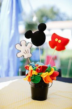 HUGE Mickey Mouse Clubhouse Birthday Decor by southernladygifts