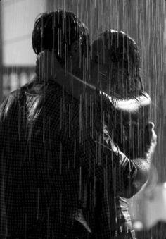 hearts are ponding... @RainGearExpress Kiss In The Rain
