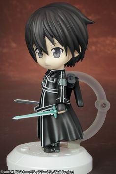 Sword Art Online Nanorich VC PVC Figur Kirito 12 cm Sword Art Online - Hadesflamme - Merchandise - Onlineshop für alles was das (Fan) Herz begehrt!