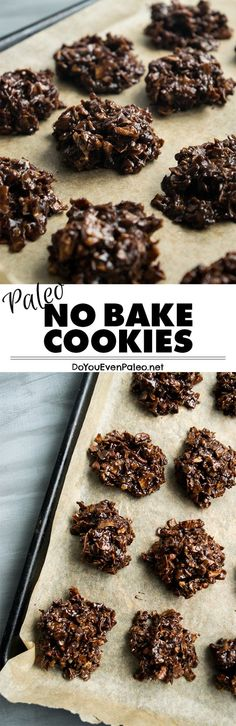 Paleo No Bake Cookie