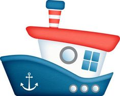"Photo from album ""Do you see what I sea"" on Yandex. Diy And Crafts, Arts And Crafts, Paper Crafts, Decoration Creche, Nautical Clipart, Sailor Theme, Nautical Party, Tug Boats, Boy Quilts"