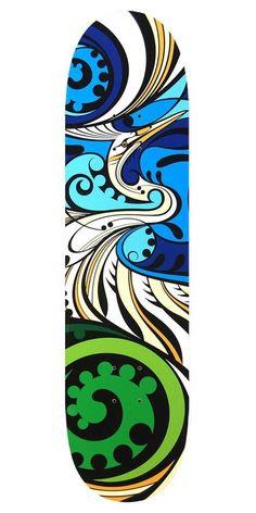 Kotuku Skateboard Deck Wall Art – Shane Hansen … – Famous Last Words Skateboard Deck Art, Skateboard Design, Abstract Sculpture, Sculpture Art, Metal Sculptures, Bronze Sculpture, Art Grunge, Tiki Art, Nz Art
