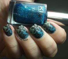 The Clockwise Nail Polish: Kiko 456 Teal Green