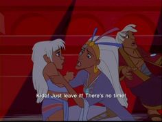 *PRINCESS KIDA & THIEA ~ ATLANTIS: The Lost Empire ,2001