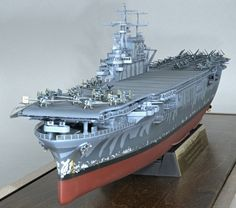 CV-8 USS Hornet - 1/350 Trumpeter