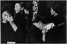 Henri Cartier-Bresson, A farewell service for the late actor Danjuro