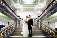 Islington Town Hall and Islington Metal Works - Chris Giles Photograpy London Wedding, Town Hall, It Works, Stairs, Wedding Photography, Couples, Metal, Weddings, Stairway