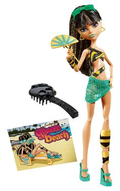 Cleo de Nile Gloom Beach Monster High Doll - This doll was re-released in 2015. I have the re-released version.