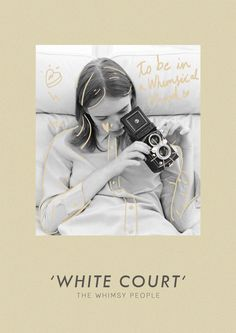 White Court collection Film Photography  lookbook layout #thewhimsypeople…