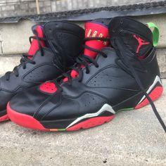 "buy popular a5934 d20a0 Air Jordan 7 Retro ""Marvin The Martian"" Size 10 · Jordan 7Jordan  ShoesJordans For MenAir JordansMarvin The MartianColor ..."