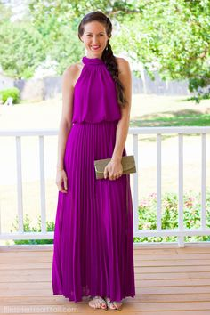 Passion For Greatness Maxi Dress, Orchid || The Mint Julep Boutique