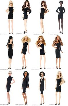 Image Search Results for black label barbie collection Old Barbie Dolls, Barbie 2000, Beautiful Barbie Dolls, Barbie I, Barbie World, Barbie Dress, Barbie Style, Barbie Basics, Diy Barbie Clothes